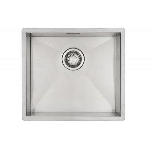 Edelstahl Küchenspüle/Spülbecken MIZZO Quadro 40-40 Flächenbündig/Unterbau - Eckige Edelstahlspüle/spüle 40 * 40 cm