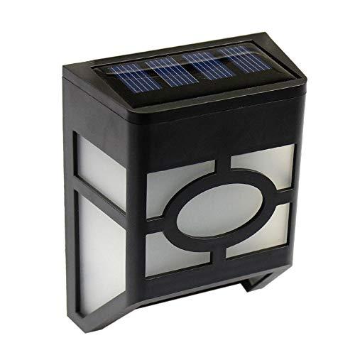 Ip55 Led-zonnelamp, 4 stuks, waterdichte zonwering, 2800 K, buitenwanddecoratie, wandlamp, raamdecoratie, buitendecoratie, wandlamp, buitendecoratie, wall washer, verlichting draadloos voor buiten en veranda