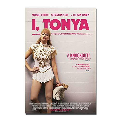 Poster I Tonya Movie Wall Poster Art Decor Sticker 40x50cm No frame U-1055