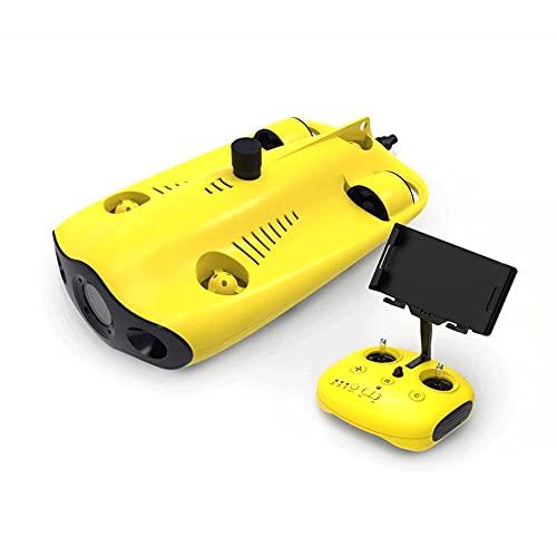 WANGCH Con fotocamera 4K ad altissima definizione e luce di riempimento a LED 100M Drone subacqueo professionale Telecomando Apparecchiatura di monitoraggio sottomarino Macchina di ispezione di pattug