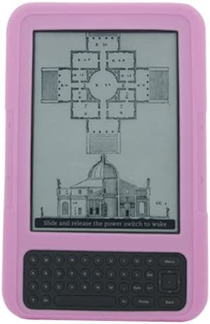 Popular products iShoppingdeals - Pink Silicone Skin Amazon Max 86% OFF Cover for Kindle Case