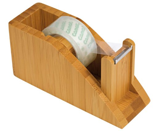 Wedo 061907 - Portarrollos de sobremesa, acabado madera