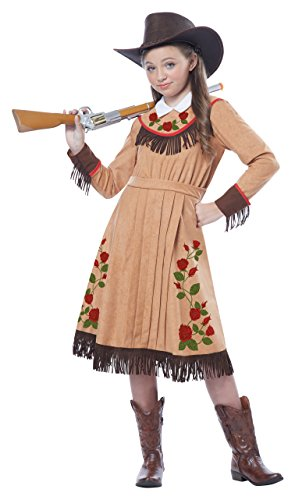 California Costumes Cowgirl/Annie Oakley Girl Costume, One Color, X-Large