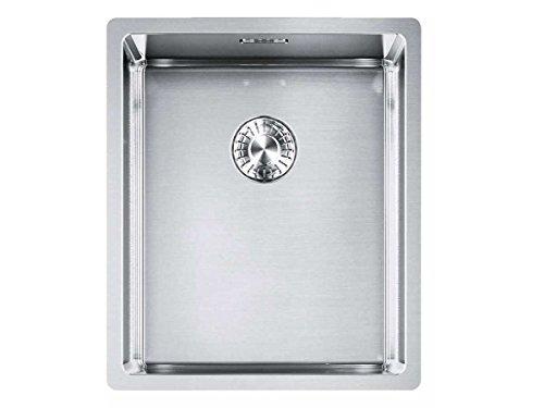 Franke Box BXX 110-34 Edelstahl-Spüle glatt Unterbauspüle Spülbecken Küchenspüle