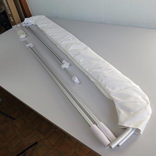 Bimini - Cubierta para barca (180 x 165-185 x 110 cm)