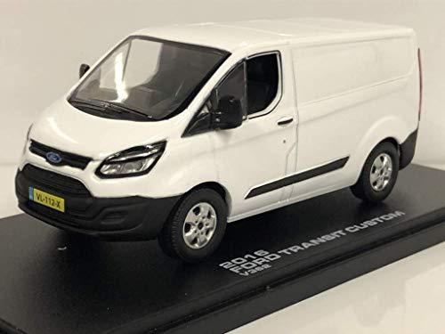 Greenlight Ford Transit Custom Van (2015) [Maßstab 1:43 in Eisweiß]