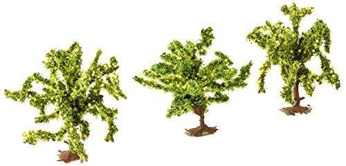 Noch 25115 4 cm Hoge Citroenbomen Landschapsmodellering (3-delig)