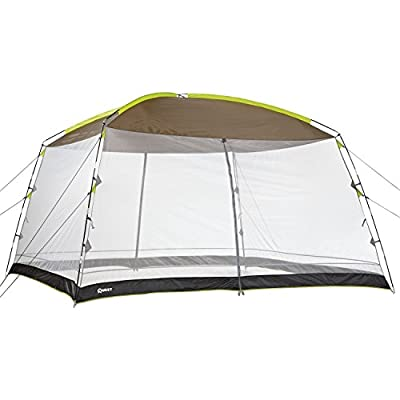 Quest 12 Ft. X 12 Ft. Recreational Mesh Screen House Canopy Tent: Great for Backyard and Camping
