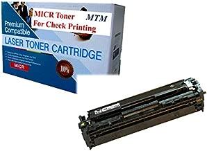 MICR TONER MART Compatible HP MICR Toner for Check Printing. CE320A 128 CP1525 CP1525N CP1525NW CM1415 CM1415fn CM1415fnw MICR Toner Cartridge
