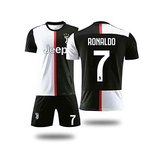 PAOFU-Men's Juventus F.C. Cristiano Ronaldo 7# Voetbal Fans Voetbal Jerseys Set