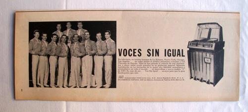 Antigua Hoja Publicidad Revista - Advertising Magazine Old