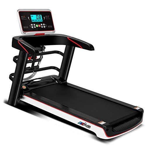 AMAZOM Laufband Elektrisch Klappbar 12 Km/H | LCD Display | Bis 100 Kg Belastbar | Heimtrainer Fitnessgerät