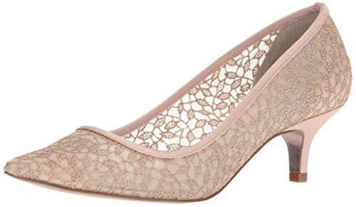 Adrianna Papell Women's LOIS-LC Pump, Blush Valencia lace, 7.5 M US