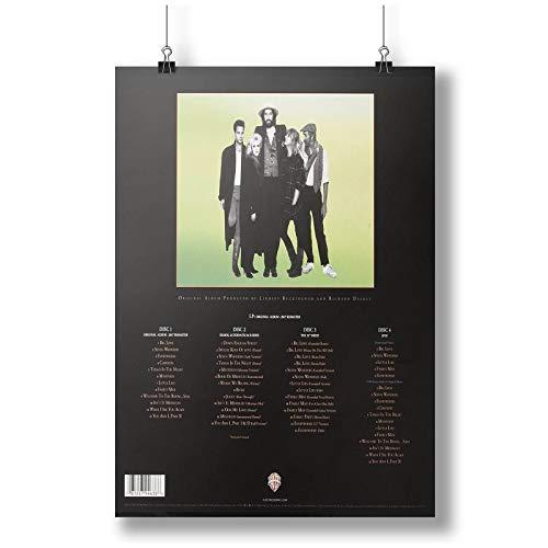 Fleetwood Mac Tango Vinyl Music Super Deluxe Wall A0 A1 A2 A3 A4 Affiche photo en satin p10807h
