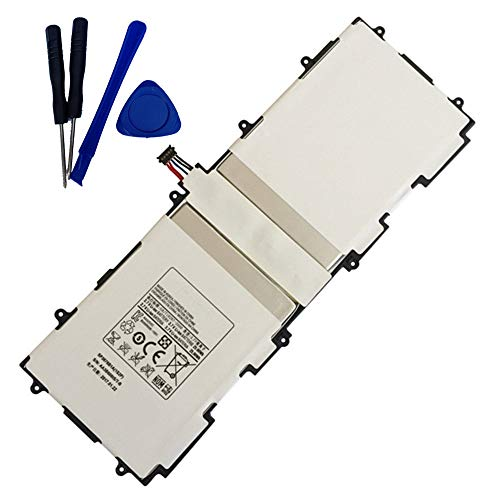 Backupower Ersatz Akku SP3676B1A(1S2P) Kompatibel mit Samsung Galaxy Tab 2 10.1 N8000 Gt-p5113 Gt-p5100 P5110 GT-P7500 GT-P7510 Galaxy Tab 10.1 & GT-N8000 GT-N8010 GT-N8013 Galaxy Note 10.1 Tablets
