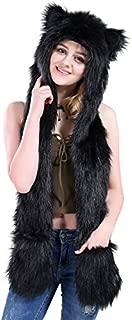 black wolf costume