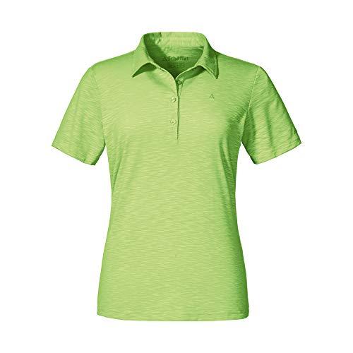 Schöffel Capri1 Polo Femme, Sharp Green, FR : XL (Taille Fabricant : 44)