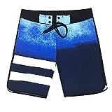 Short debain Homme Pantalon de Surf de Plage Extensible à séchage Rapide Short de Rugby Homme Homme Maillots de Bain Swim 32