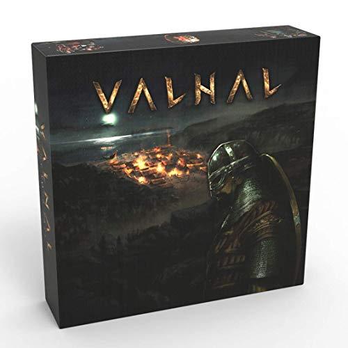 VALHAL (thematisches Wikinger-Brettspiel) (Valhal Companion Bundle)