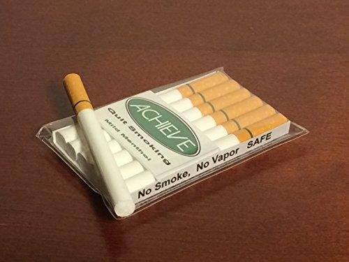 Achieve Quit Smoking Mild Menthol Authentic Feel Fake Cigarettes | Behavior Modification Smoking Cessation Aid