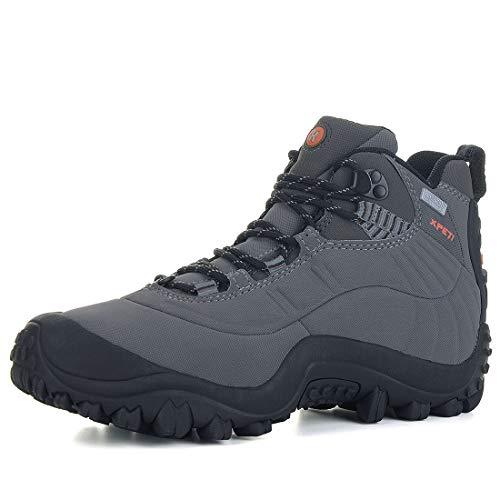Zapatos de Senderismo para Hombre,XPETI al Aire Libre Botas de Montaña...