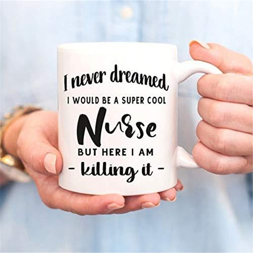 Taza de enfermera, regalo de enfermería, regalo para estudiantes de enfermería, regalo de graduación de enfermeras, enfermeras, enfermeras del futuro, regalo para enfermeras