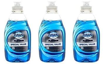 Dawn Ultra Dish Liquid 7 oz Platinum Refreshing Rain Scent  Package May Vary  Pack of 3