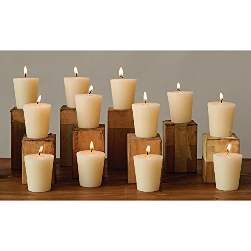 Flaire Party Pack - Pack of 12 Unscented 15-Hour Clean Burning Votive...