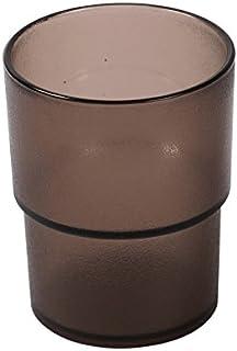 タンブラー ブラウン色 【12個セット】 業務用 割れにくい ポリカーボネート製 業務用コップ_FH70027NHB-12