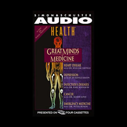 Great Minds of Medicine audiobook cover art