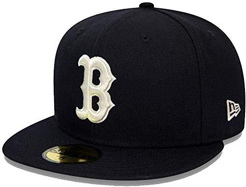 New Era Unisex Kinder MLB 5950 Bosco Kappe, Marineblau, 6 7/8