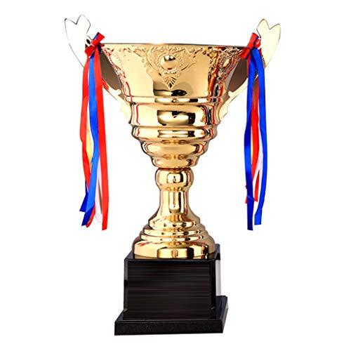 Trofeos Torneo De Baloncesto Oro Juegos De Fútbol League of Legends (Color : Gold, Size : 35 * 49cm)