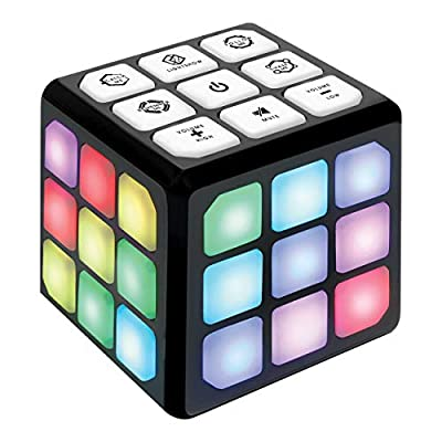 Flashing Cube Brain & Memory Game for Kids – 4-in-1 Electronic Handheld Games for Kids – Gift Toy for Boys and Girls 6-12 Years Old