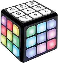 Flashing Cube Electronic Memory & Brain Game   4-in-1 Handheld Game for Kids   STEM Toy for Kids Boys and Girls   Fun Gift Toy for Kids Ages 6-12 Years Old