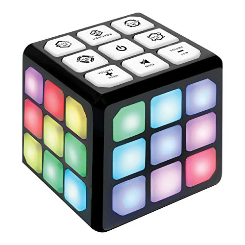 Flashing Cube Electronic Memory & Brain Game | 4-in-1 Handheld Game for Kids | STEM Toy for Kids Boys and Girls | Fun Gift Toy for Kids Ages 6-12 Years Old