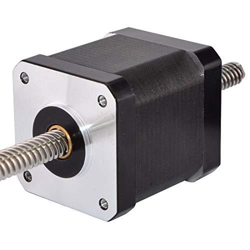 STEPPERONLINE Nema 17 Non-captive 48mm Stapel 1.68A Gewindespindel 8mm/0.31496 inches longitud 200mm para 3D DRUCKER/CNC-Fräse