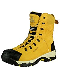 Safety boots waterproof lining with side zip - Amblers safety boots
