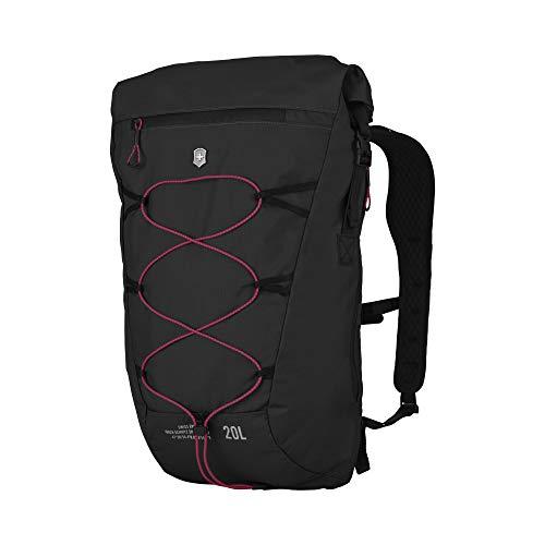 Victorinox Altmont Active Lightweight Rolltop Backpack - Sac à Dos Multi-usages léger et Fonctionnel - 19x30x46cm - Noir