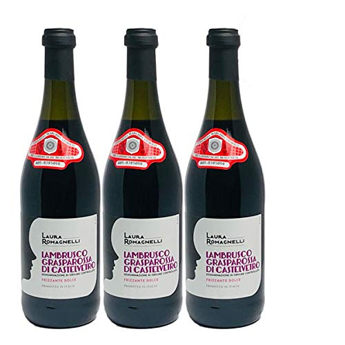 Rotwein Italien Lambrusco Grasparossa di Castelvetro DOC lieblich (3x0,75L)
