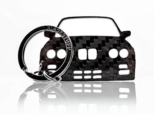 BlackStuff Carbon Karbonfaser Schlüsselanhänger Kompatibel mit M3 E30 BS-146