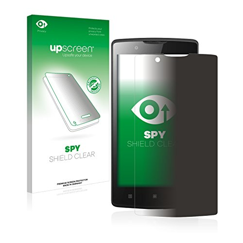 upscreen Anti-Spy Blickschutzfolie kompatibel mit Lenovo A2010 Privacy Screen Sichtschutz Bildschirmschutz-Folie
