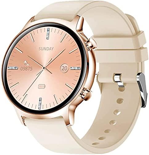 wyingj Hombres s reloj inteligente con monitor hombres s Fitness Tracker podómetro IP68 impermeable deportes mano reloj inteligente mujeres-C