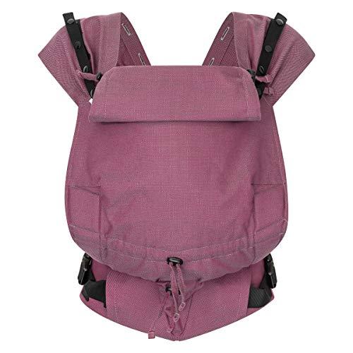 Hoppediz Babytrage Primeo Full-Buckle, Design Mallorca, 100% Bio-Baumwolle