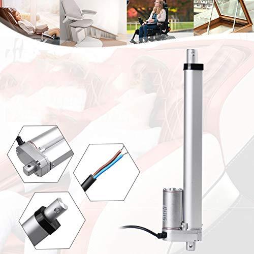 Módulo electrónico Engranaje metálico Actuador lineal eléctrico 12V Motor lineal Movimiento Distancia de movimiento 50 mm 100 mm 150 mm 200mm 250mm 30W 2.5A Equipo electrónico de alta precisión