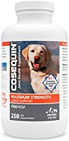 Nutramax Laboratories COSEQUIN Maximum Strength Joint Supplement Plus MSM - with Glucosamine and Chondroitin - for Dogs...