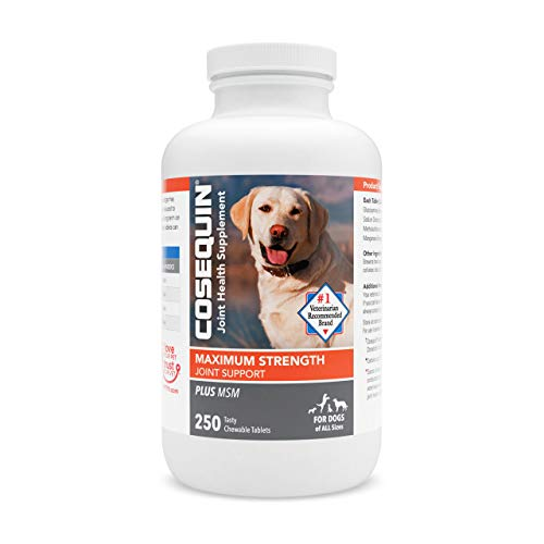 Top 10 best selling list for cosequin ds plus msm joint health supplement for dogs 180