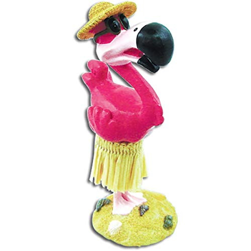 Dashboard Doll Mini Flamingo 4 Inch tall 40786 BOXED dashboard dolls - Car dashboard decor - Perfect gift or souvenir