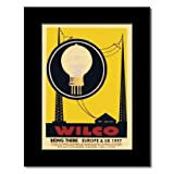 WILCO - Europe and UK 1997 Matted Mini Poster - 22.2x15.8cm