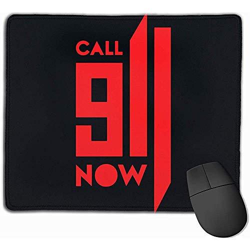 Bel 911 nu rechthoek anti-slip rubber muismat Gaming Mouse Pad
