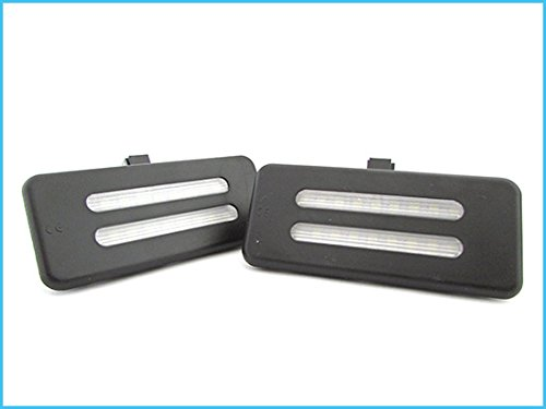Kit Luci LED Di Cortesia Alette zonnescherm BMW E60 E60N E61 E61N E90 E90N E91 E91N E92 E92N E70 E71.